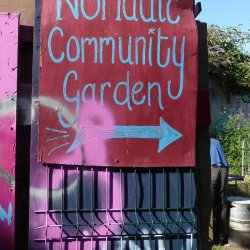 Nomadic garden community Londres London